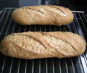 Using spent grains from the beer brewing process for baking bread.