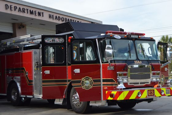 Ocala (FL) Fire Rescue has taken delivery of a new E-ONE ...