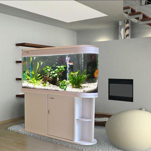 Minjiang screen medium fish tank Aquarium closed u-shaped projectiles on the Goldfish Bowl filter 1.2 m Shoe cabinet