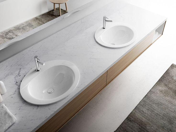 17 best images about lavabos de porcelana oval on for Lavabos de porcelana