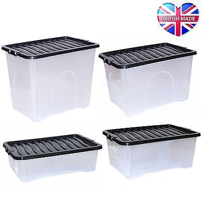 #Large plastic storage clear underbed box strong tough #stackable #container,  View more on the LINK: 	http://www.zeppy.io/product/gb/2/351626130026/