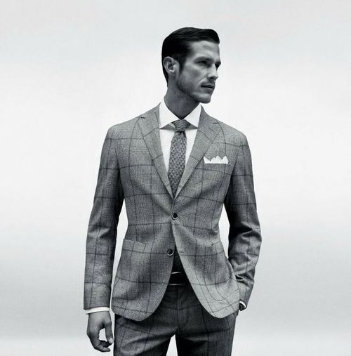 Classic Menswear Pieces: The Windowpane plaid suit