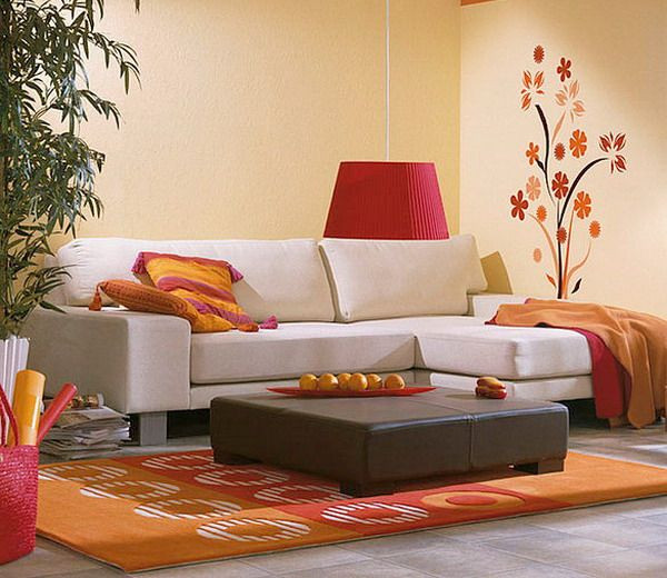 Living Room, Beautiful Modern Small Living Room Wall Decorating Ideas Designing: Find