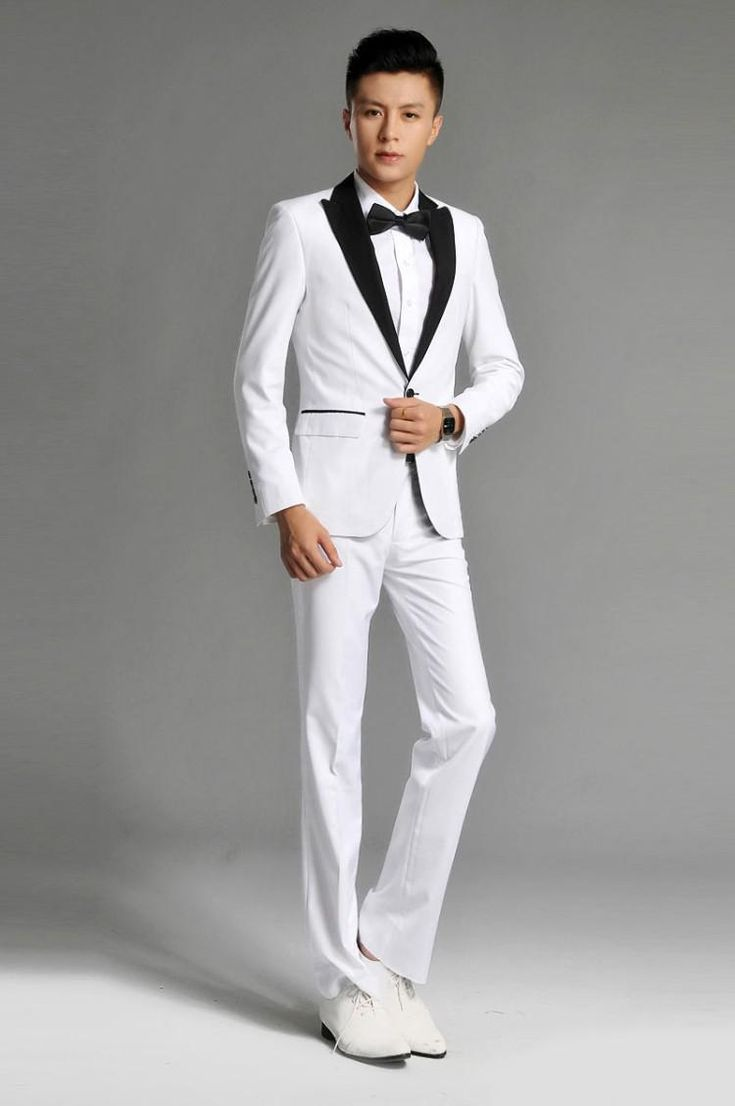 Best 10  White suits for men ideas on Pinterest | White pants for ...