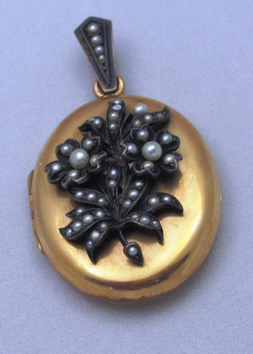 Victorian Romantic Period Jewelry: Antique by PastAccoutrementals-SOLD