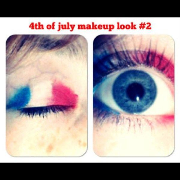 Instagram Insta-Glam: 4th of July Makeup | StyleCaster