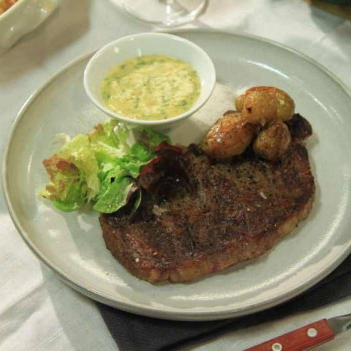Grillad entrecote med bearnaise