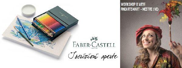 Workshop d`Arte Gratuito su Matite Acquerellabili Faber-Castell - Tumit Eventi
