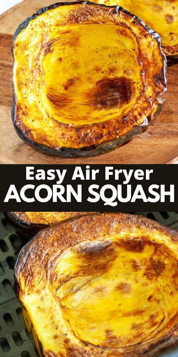 Easy Air Fryer Acorn Squash in 2020 Acorn squash, Full