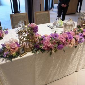 高砂席のテーブルコーディネート|mikanさんの桜苑の写真(227162)