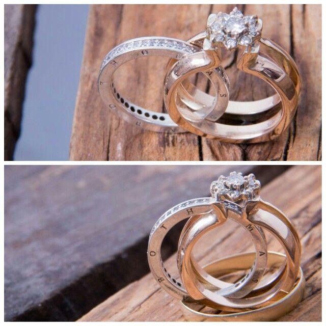 My new designer wedding ring . #weddingrings #rings #designer #puzzlering