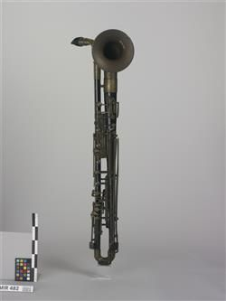 Metall-Bassklarinette in B (Bimbonclarino) (Giovanni Bimboni)