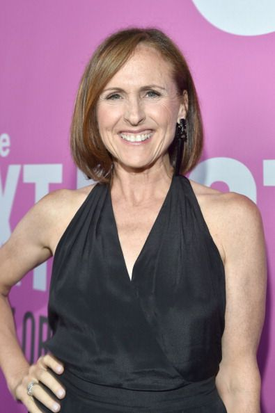 "Molly Shannon at the ""Life After Beth"" Premiere. Makeup by Kindra Mann."