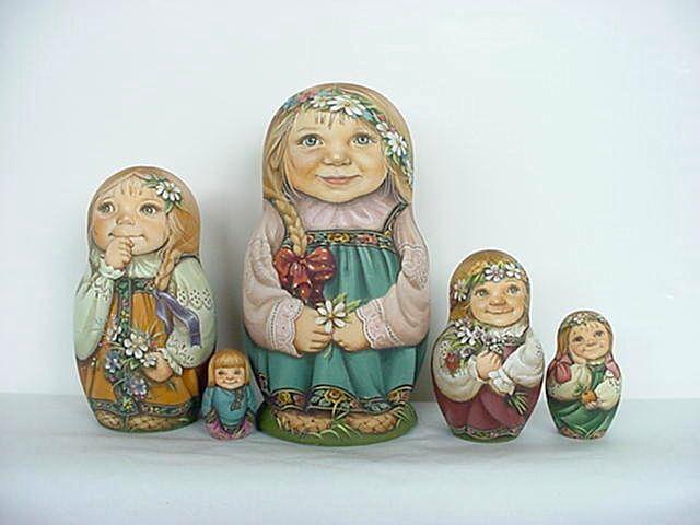 Daisies- Larinova Lida's Studio-Moscow, Russia
