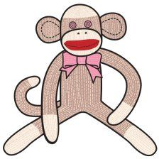 how to make a sock monkey...and more free sewing patterns at this site