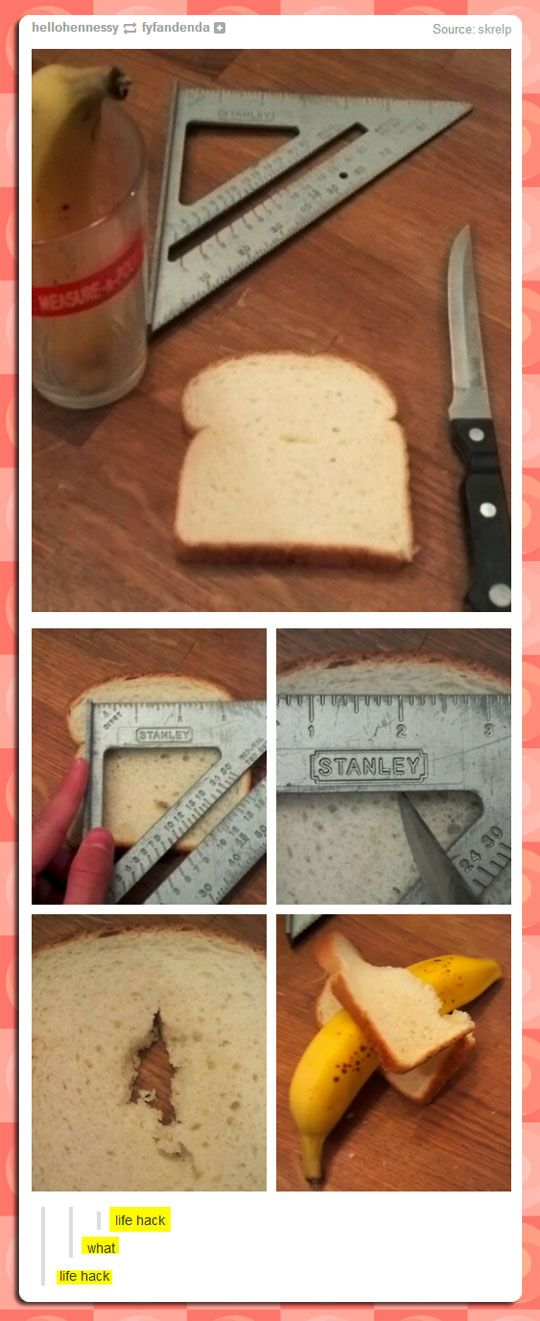 Life Hack! So helpful didn't think of this!