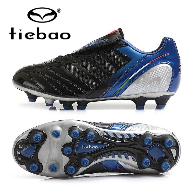 TIEBAO Professional 39-44 Size Football Soccer Shoes Men Women Outdoor AG Soles Soccer Cleats Training Sneakers Chuteira Futebol