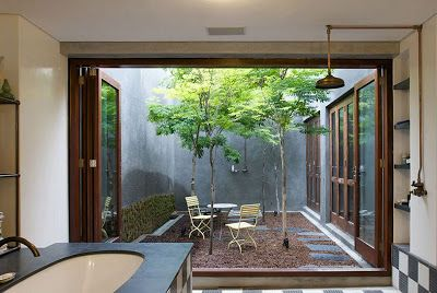 82 best images about atrium spaces on pinterest mid for Residential atrium