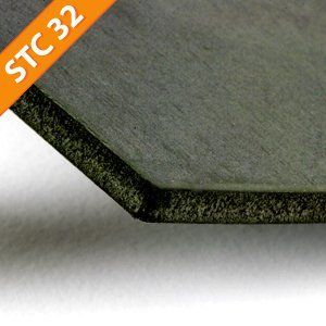Quiet barrier hd soundproofing material sheet a high for Best sound barrier insulation