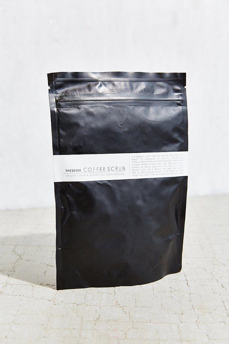 Theseeke Dry Coffee Scrub