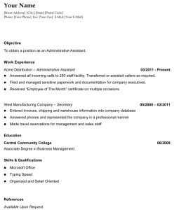 25 unique chronological resume template ideas on pinterest