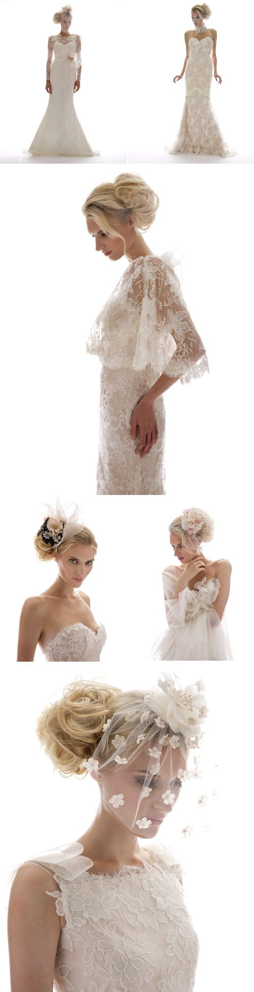Not your average wedding veils designed by Elizabeth Fillmore are chic interpretations of the traditional accessory
