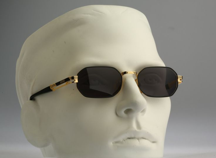 Versus Gianni Versace Mod F21 Col 33M / Vintage sunglasses / NOS / Rare 90s designer eyewear by CarettaVintage on Etsy