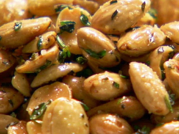 thyme roasted marcona almonds from ina the barefoot contessa theyre highly - Food Network Com Barefoot Contessa Recipes