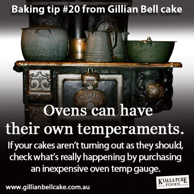 Ovens have their own temperaments - use a temperature gauge to double check heat