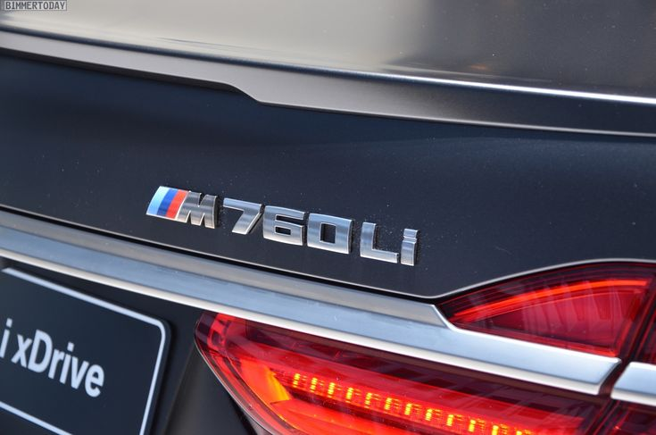 BMW xDrive M760Li runs from 0 to 62 mph in 3.7 seconds - http://www.bmwblog.com/2016/03/02/bmw-xdrive-m760li-runs-0-62-mph-3-7-seconds/