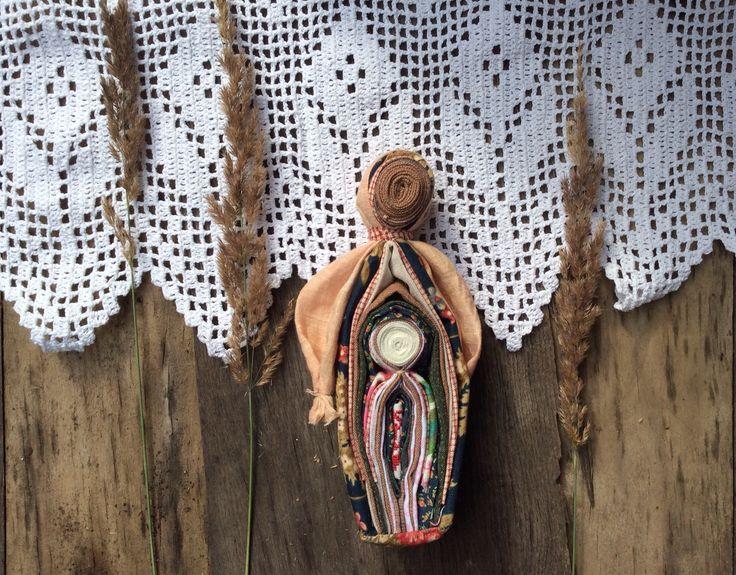 "Textile doll ""Motherhood"". August 2015"