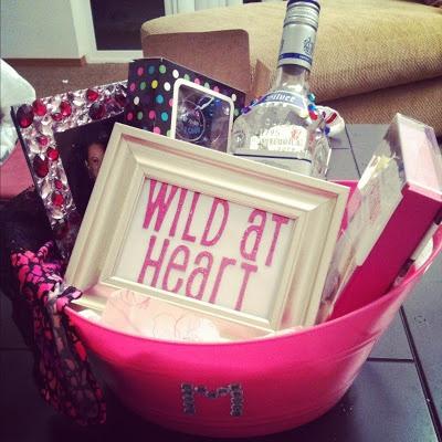 DIY Wild at Heart Gift Basket