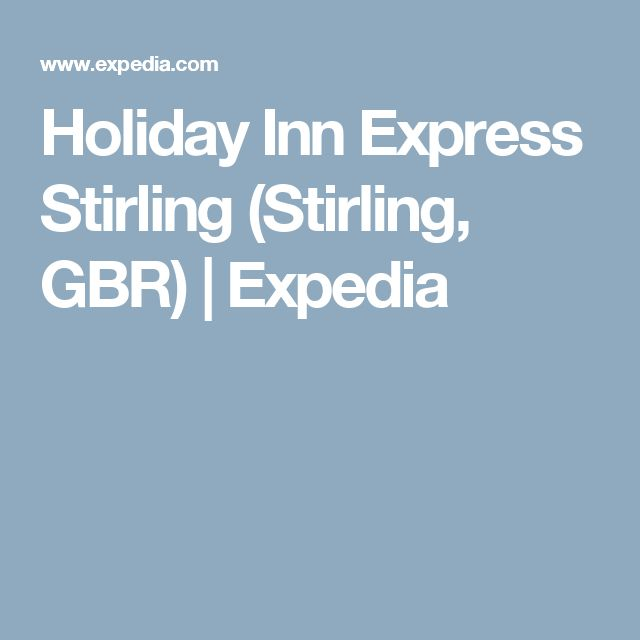 Holiday Inn Express Stirling (Stirling, GBR) | Expedia