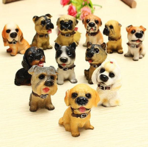 Puppy Dog Action Figure Figurine Animal Pet Dogs Toys 12 Pcs New Christmas Gift #unbranded