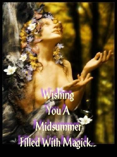 Litha / Summer Solstice....CHECK OUT THE MAGNETS FOR MIRACLES BOARD MY DEAR FRIENDS...HAVE A BLESSED DAY...linda...