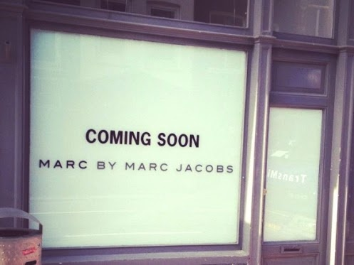 MARC BY MARC JACOBS OPENING IN BRUSSELS TOMORROW     We had to wait longer than expected but on October 13 2012 Marc by Marc Jacobs is finally opening in the Dansaert area in #Brussels!