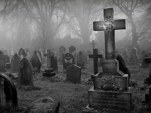 Old cemeteries merrydoll