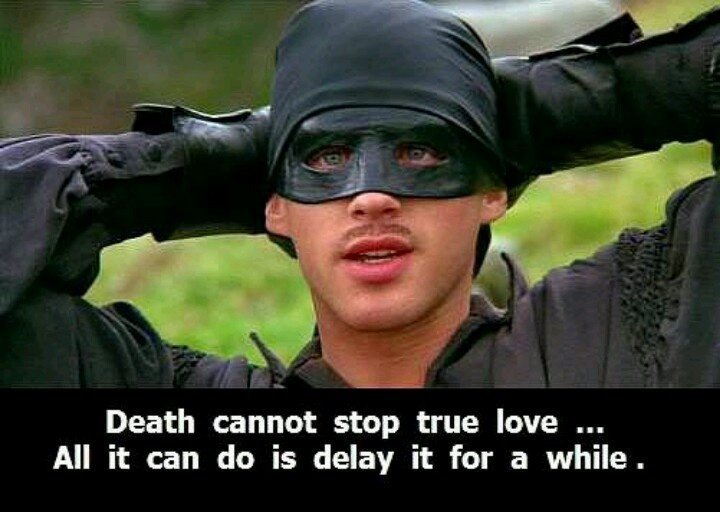 everything you need to know about love you can learn from The Princess Bride