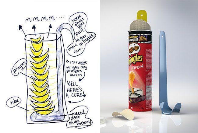 沒有學習過任何相關的知識,沒有考慮預算與合理性,隨心所欲的創作發想,充滿童心的點子讓人忍不住會心一笑,這就是兒童設計最迷人的地方!來自英國設計師Dominic Wilcox所發起的計畫「Invent...