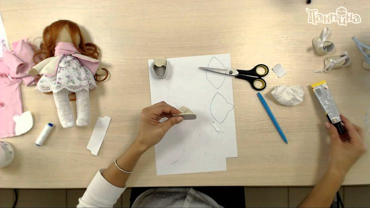"""Часть 3. Кукла своими руками. Завершающий этап создания куклы """"Малышка"""""""