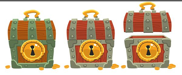 Chests animation on Behance
