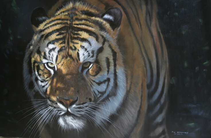 This was a stunning painting by Pip that didn't stay in the Gallery for long