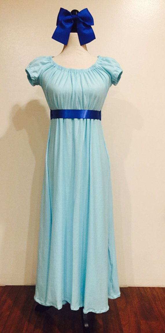 Wendy Darling Inspired Dress / Dressing Gown by onceUPONyourTshirt