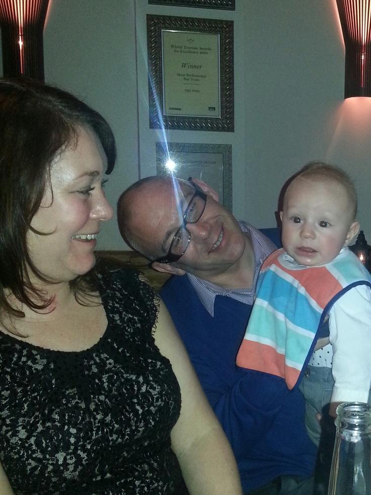 Tracy, John and Toby