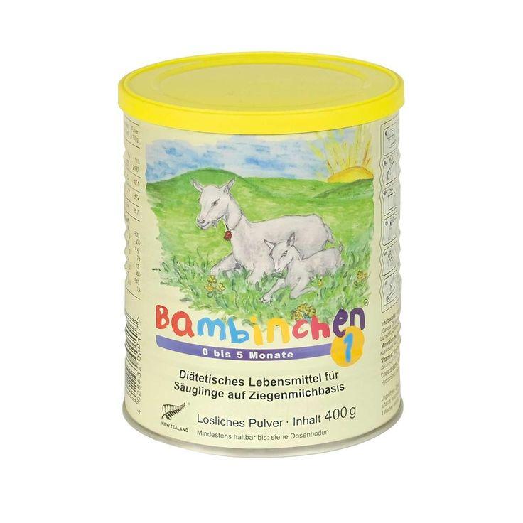 Bambinchen Säuglingsmilchnahrung auf Ziegenmilchbasis