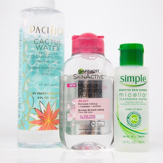 Anyone Else Still Into Micellar Water We Love Using This As A Gentle Cleanser In The Morning And It S Great Gentle Cleanser Micellar Water Micellar