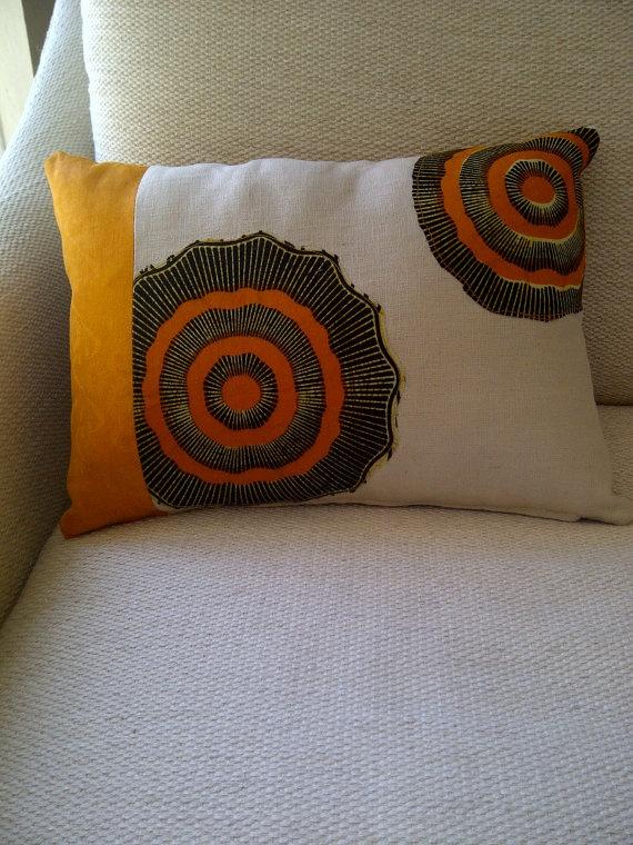 African Mix Print Cushion by ifenkili on Etsy