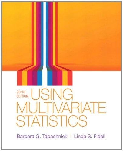 Using Multivariate Statistics (6th Edition) by Barbara G. Tabachnick, http://www.amazon.com/dp/0205849571/ref=cm_sw_r_pi_dp_WBGZqb04Y2Z21