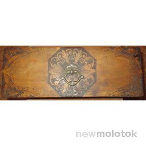 Старинный сундучок шкатулка | Newmolot.ru - торговая площадка