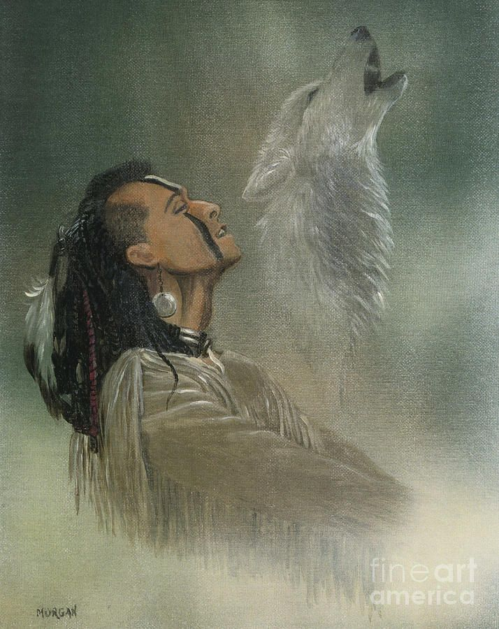 paintings of american indians | ... American Indian Painting - Native American Indian Fine Art Print
